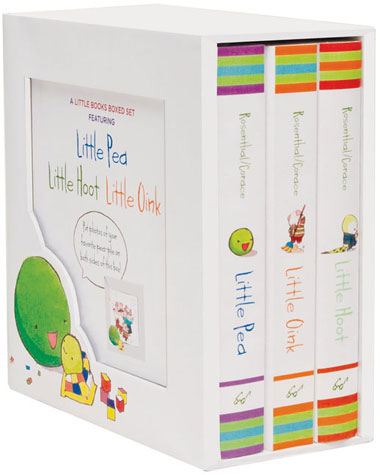 Little Pea, Little Hoot, Little Oink - Board Book Boxed Set